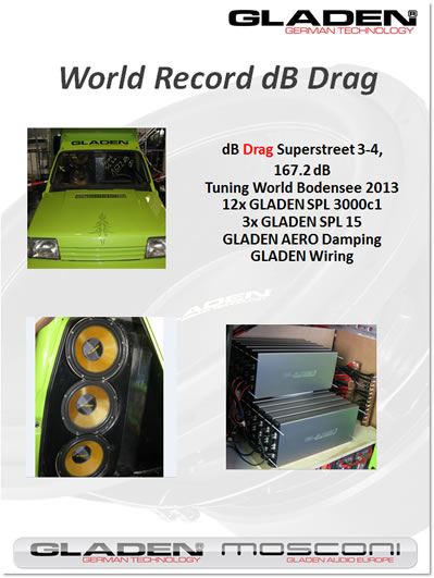 World Record dB Drag